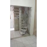 Escada Caracol de Concreto
